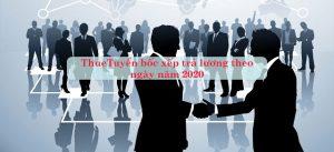 Tuyển bốc xếp trả lương theo ngày năm 2020