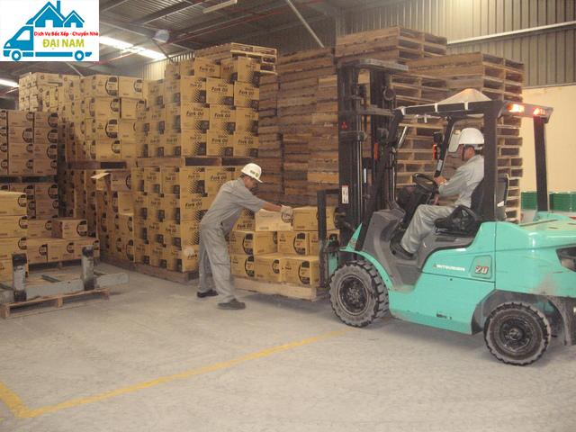 Dịch vụ chuyển kho xưởng quận Bình Tân