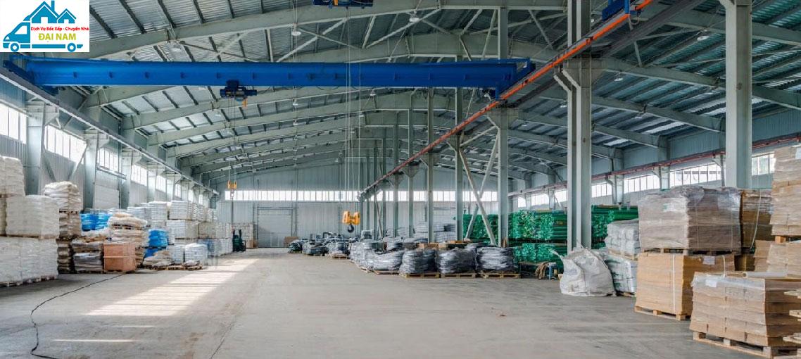 Dịch vụ chuyển kho xưởng quận Tân Phú