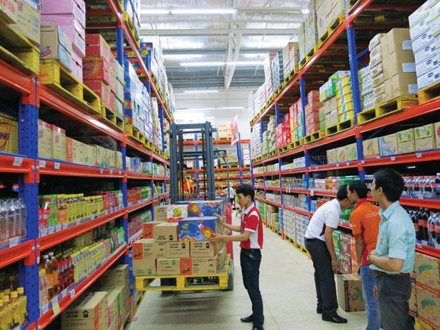 Dịch vụ bốc xếp hàng hóa tại siêu thị, trung tâm thương mại giá rẻ, chuyên nghiệp