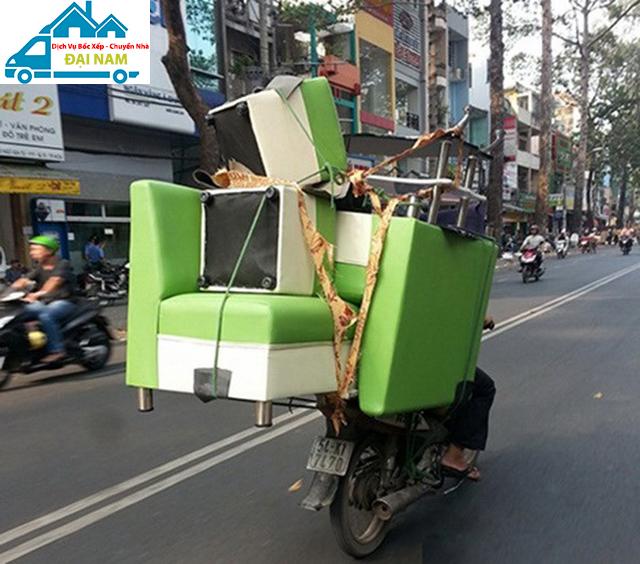 Các loại xe phổ biến sử dụng trong việc chuyển nhà