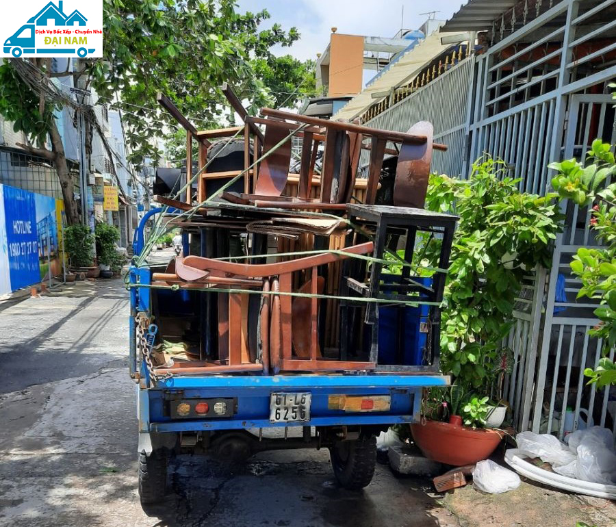 Hướng dẫn cách chuyển nhà trong hẻm nhỏ hẹp dễ dàng
